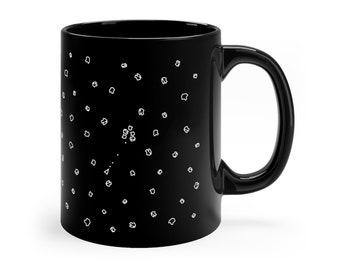 Asteroids CoffeeTea Mug