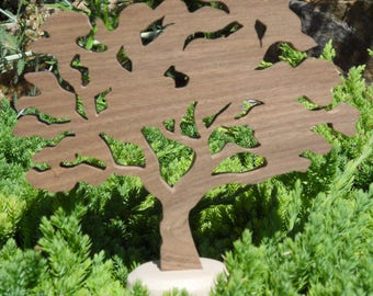 """WOODEN tree """"olive"""""""