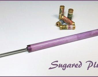 """Sugared Plum Paper Bead Roller / Tool from the Watercolor Collection - Your Choice 1/8"""" or 3/32"""" - Tutorial Included"""