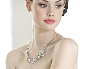 vintage inspired bridal jewellery, wedding necklace, 1050's, wedding accessories, Divine Deco Miss Mia necklace  nl3041 C