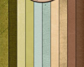 Digital Scrapbooking: Paper Pack, Solids, Sandalwood