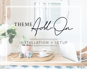WordPress Theme Installation + Setup // WordPress Add-On