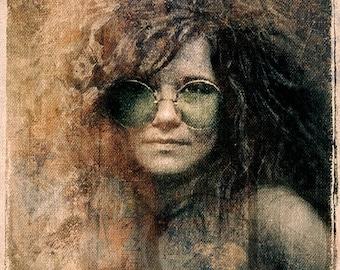 Janis Joplin - Limited Edition Print 11 x 17