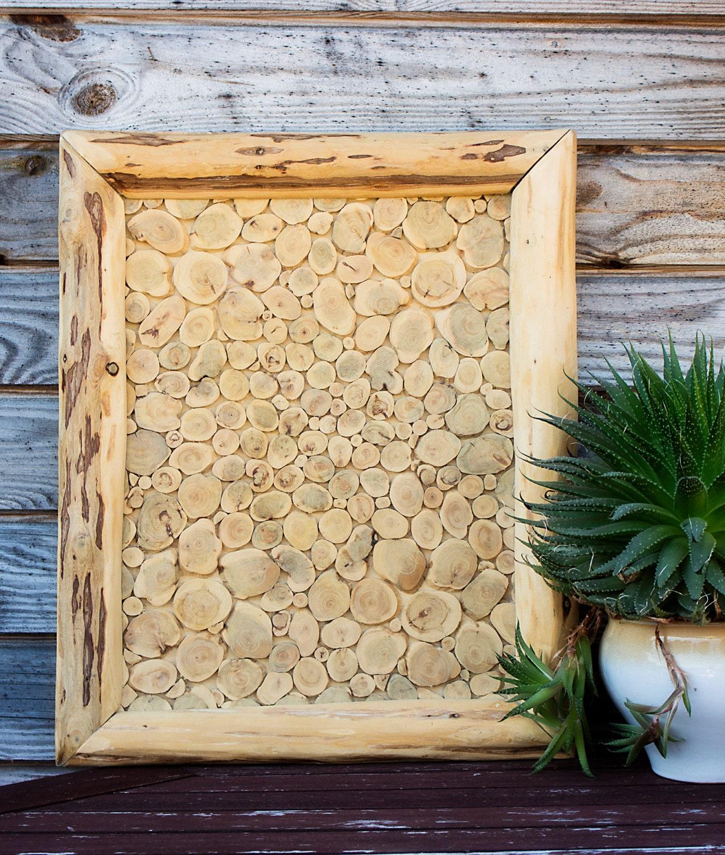Juniper Wood Wall Hanging Natural Wooden Wall Art Handmade