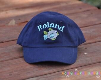 Baby Baseball Cap - Toddler Baseball Hat - Baseball Cap - Personalized - Monogrammed