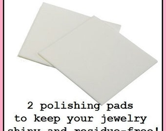 Jewelry Clean-up & Jewelry Polishing Pad - Super Fine Grit Square to Clean Jewelry, E. Ria Designs