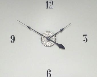 """Large 30"""" Wall Clock Kit Complete with Hands, Motor and 3"""" Numbers & 14"""" hands"""