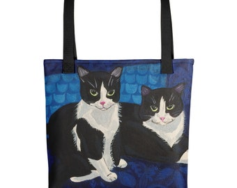 Tuxedo Cats Tote bag