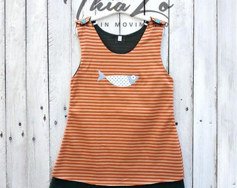 Orange DRESS Minnow