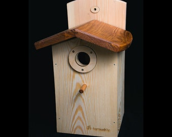Birdhouse for Blue Bird Decoration Outdoor Garden , Hanging Nesting Boxes, Housewarming Gift ideas, Outdoor Wild Bird House