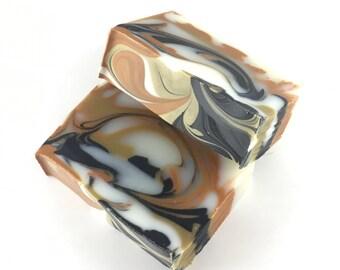 Cedar Soap - Cedarwood Soap - Organic Cedar Soap - Natural Soap - Vegan Soap - Men's Soap - Charcoal Soap - Moroccan Clay - Rhassoul Clay