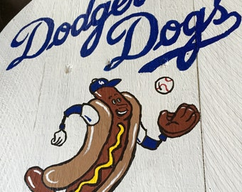 "Stadium Series: Dodgers Stadium ""Dodger Dog"" Sign"
