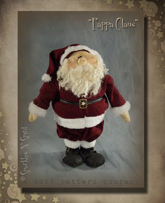 "Pattern: Pappa Claus - 21"" Santa"