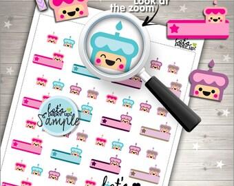 60%OFF - Birthday Stickers, Birthday Planner Stickers, Printable Planner Stickers, Cute Stickers, Kawaii Stickers, Planner Accessories