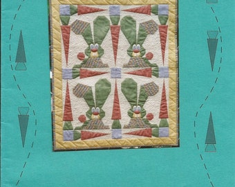 "Hippity Hop, 24"" x 29"" Wall Quilt Pattern, I've BEEn THINkinG #S8009"