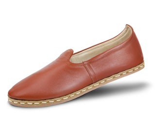 Koshkar Turkish Shoes Dark Brown