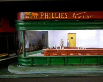 Night Hawks Diorama inspired by Edward Hopper