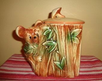 Cute Vintage McCoy Koala Bear Cookie Jar USA