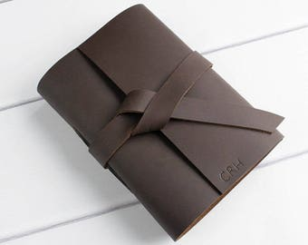 leather travel journal -personalized Leather Handmade Journal - Monogram Journals with Name