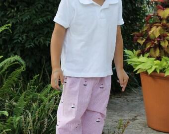 Classic Fit Pants boys pants PDF sewing pattern, pdf sewing pattern, toddler pattern, easy pants pattern PDF sewing pattern