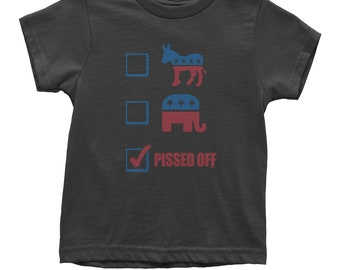 P-ssed Off Voter Youth T-shirt
