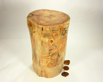 Aspen Tree Cremation Urn, Wood Cremation Urn for Ashes.  Memorial, Funeral & Burial Urns.  Wooden Urns Handmade in Colorado.  185 lbs.