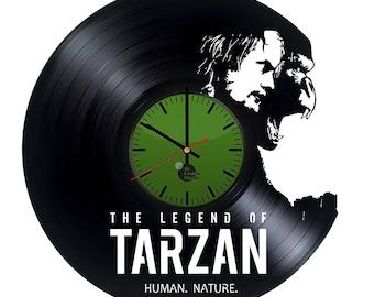 The Legend of Tarzan Vinyl Record Wall Clock Home Decor