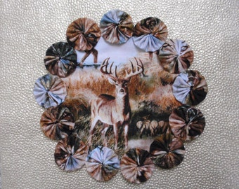 Deer Candle Mat or Doily