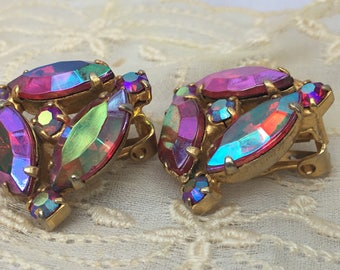 These are THE ONES! Fabulous color ,Aurora Borealis Iridescent~Deep red