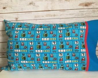 Nintendo Mario Brothers pillowcase
