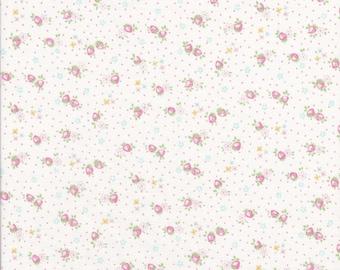 30's Fabric - Mini Strawberries - Strawberry Fabric - Mini Florals - Polka Dots - Atsuko Matsuyama - Yuwa Fabric - Japanese Fabric
