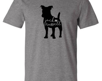 Jack Russell Love T-shirt