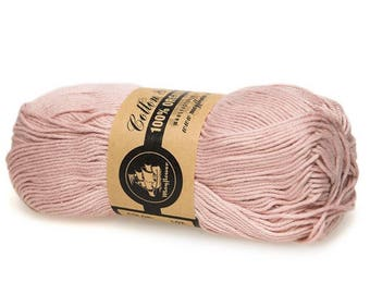 07 Old Rose Mayflower Organic Cotton 8/4 50g