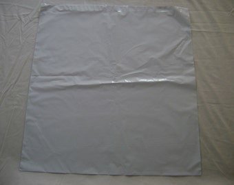 5 24x24 White Poly Mailers Self Seal Adhesive Strip Plastic Flat Glossy Bag Envelopes Shiny Waterproof Shipping Tear Proof Lightweight