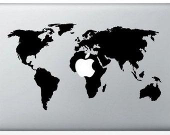 Sticker World Map for Mac