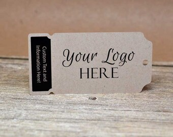 Ticket Cut Custom Product Hang Tags - Clothing Tags - Price Tags