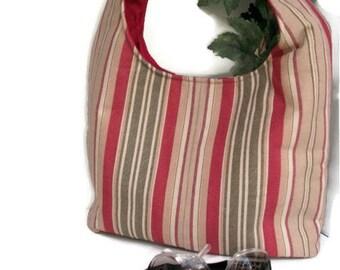 CLEARANCE Hobo Bag , Sling Bag Purse , Shoulder Bag , Over the Shoulder Bag , Shoulder Sling Bag , Hobo Shoulder Bag,  Stripe Purse