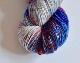 MCN | Hand Dyed Yarn  | Superwash Merino | Cashmere | Nylon | Wool - Syahi