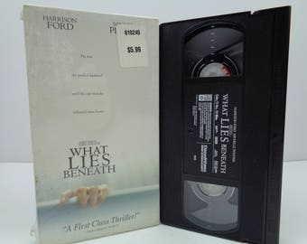 What Lies Beneath VHS Tape