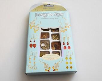 DIY Earring Kit, DIY Jewelry Kit, Earrings,Jewelry Making Supply