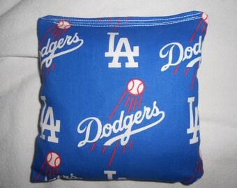 LA Dodgers  Corn hole Bags