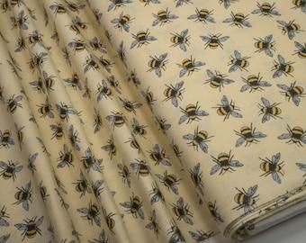 3 Wishes Bee Happy 12299-Cream 0.54yd (0.5m) 003865