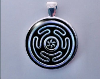 Wheel of Hecate, Greek Goddess Hecate, Moon Goddess, Labyrinth,  Guardian of Crossroads.