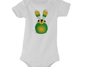 Baby Bodysuit ' nibbling nibbling '