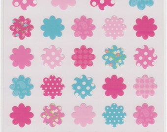 Flower Stickers - Mind Wave Stickers - Reference A1288-90A2085