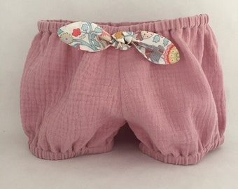 Bloomer / Liberty of London for girl - baby accessories - baby clothes onesie - girl - newborn gift accessory