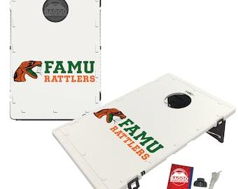 Florida A&M University Rattlers Baggo Cornhole Game Designs