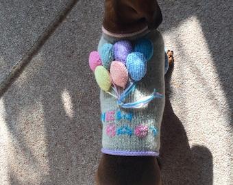 New Baby Dog Sweater