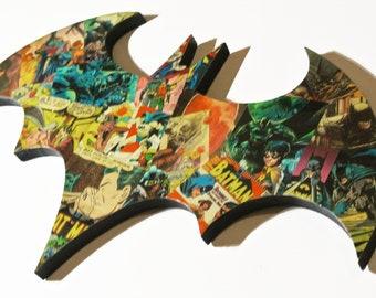 Batman Logo wall plaque (in stock)