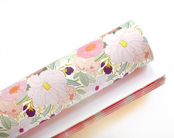 Floral Gift Wrap - 3 Sheets